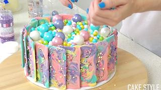 Rainbow Chocolate Cake - Video