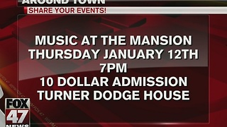 Turner-Dodge House holds Music at the Mansion - Video