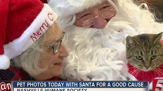 Pets Pose With Santa For Good Cause - Video