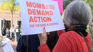 Tucsonans march for gun violence victims - Video