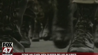 Report: Some military men suffer pelvis injuries - Video