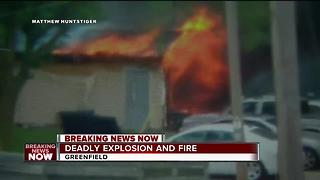 24-year-old maintenance worker killed in Greenfield shed explosion, fire - Video