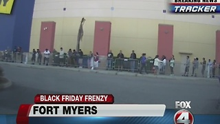 7:30am Black Friday live look: Page Field Commons - Video