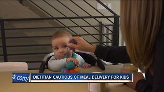 Dietitian warns parents to be cautious with baby food delivery service - Video