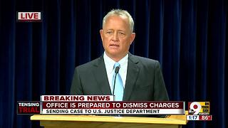 Prosecutor Joe Deters decides not to try Ray Tensing third time in killing of Sam DuBose - Video
