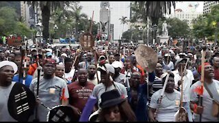 SOUTH AFRICA - Durban - Human rights day march (Video) (pJ9)