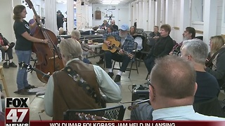 Woldumar Folkgrass Jam held in Lansing - Video