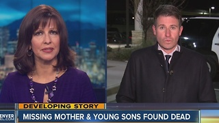 Missing mother and young sons found dead - Video