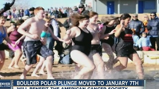 Date change for Boulder's Polar Plunge - Video