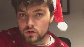 Singer Wishes You a Perfectly Tolerable Christmas - Video