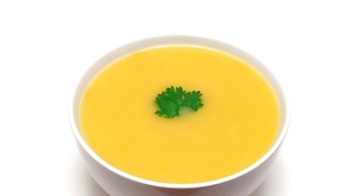 How to make a roasted garlic butternut squash soup - Video