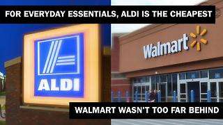Price comparison: Kroger vs. Meijer vs. Target vs. Walmart vs. Aldi vs. Marsh - Video