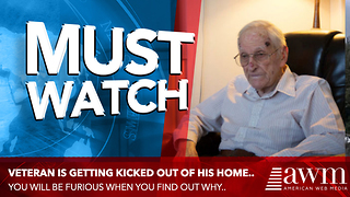 Here's The Excuse Landlord Has For Kicking Out 92-Year-Old Veteran Who Beat Cancer - Video