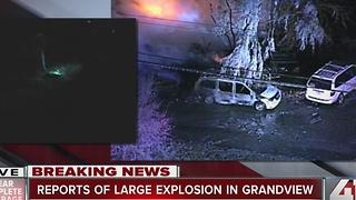 Reports of large explosion in Grandview - Video