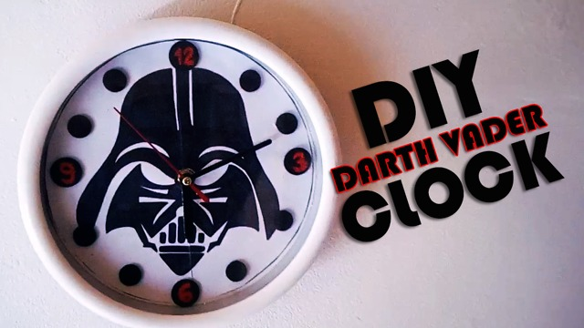 Diy Darth Vader Wall Clock Tutorial Rumble