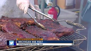 Michigan Rib Fest 2017 - Video