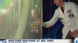 Andy Parker's Weather Machine Visits Big Tree Elementary - Video