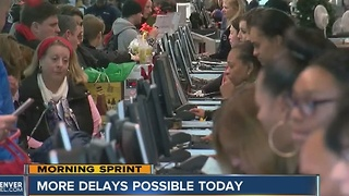 DIA trying to recover after hundreds of flight cancellations - Video