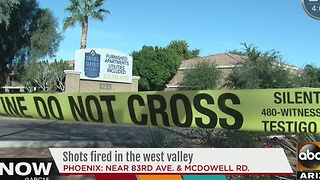 Police investigating shots fired in the West Valley - Video