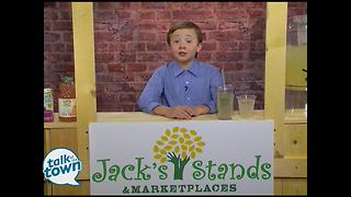 11 year Old Lemonade Stand Entrepreneur - Video
