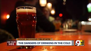 Alcohol especially risky in extreme cold - Video