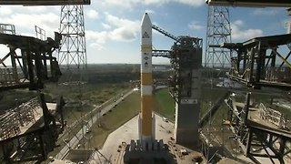 Delta IV Rocket Launches US Military Satellite - Video