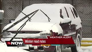 Winter road rules - Video