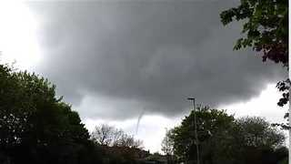 Video Shows Funnel Cloud Over Hartlepool - Video