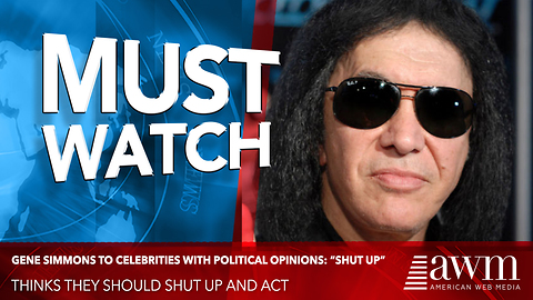 Gene Simmons To Elitist Celebrities, 'Trump Is President, Now Shut Up And Deal With It'