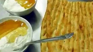 Traditional Persian Breakfast - Video