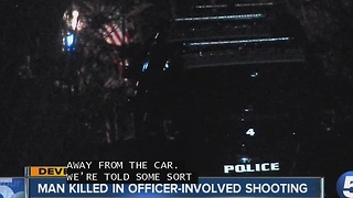 Fatal officer-involved shooting following crash in Hudson - Meg Shaw - Video