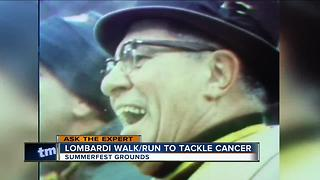Ask the Expert: Lombardi Walk/Run to Tackle Cancer - Video