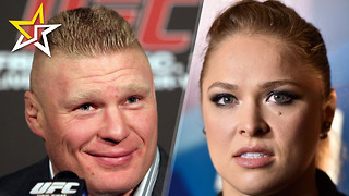 Brock Lesnar Making His Return To UFC And WWE Could Have Ronda Rousey At Wrestlemania - Video
