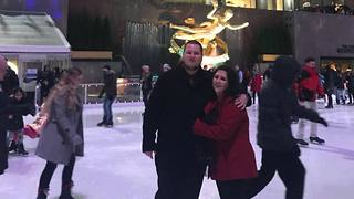 New Jersey Couple Give 'Falling in Love' New Meaning With Icy Engagement - Video