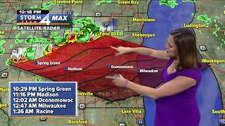 Jesse Ritka's Tuesday 10pm Storm Team 4cast - Video