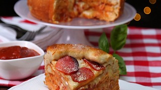 Pizza Cake - Video