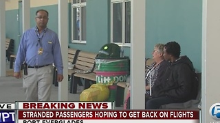 Stranded passengers still trying to get home after FLL airport shooting - Video