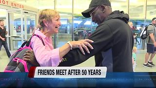 Boise Vietnam veteran meets his pen pal face-to-face for the first time in 50 years - Video
