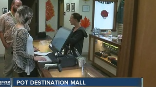 Marijuana-themed mall in Aurora getting a lot of attention - Video