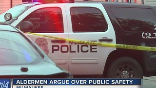 Alderman argue over public safety at Thursday meeting - Video