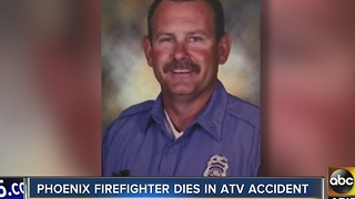Phoenix firefighter dies in ATV crash near Flagstaff - Video