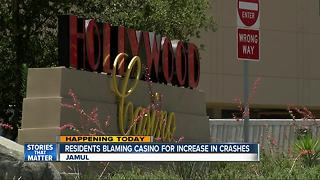 Jamul residents blaming Hollywood Casino for increase in crashes