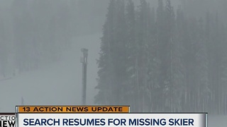 Search resumes for skier caught in Nevada avalanche - Video