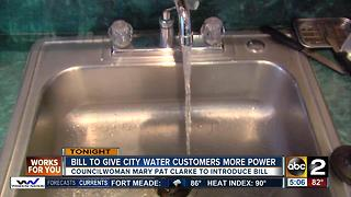 Councilwoman Mary Pat Clarke to introduce water bill - Video