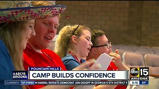 Buddy system at Arizona Magic summer camp creates special bond - Video
