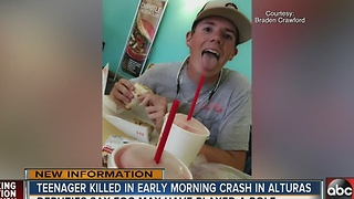 Teenager killed in early morning crash in Alturas - Video