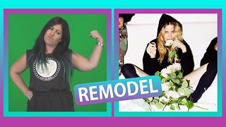 Remodel: Our gal is hung up on Madonna - Video