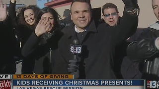Zippy Shell and John Fogal at 13 Days of Giving toy giveaway - Video