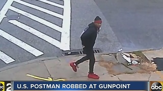 Postal carrier robbed - Video
