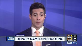 MCSO names deputy involved in Phoenix shooting - Video